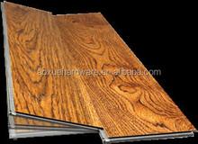 Interlocking plastic floor tiles pvc vinyl flooring plank