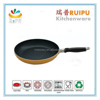 new products coloful orange non-stick hotel ceramic coating aluminum foil fry pan rack,frying pan diamond