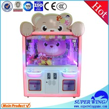 2015 new amusement hot sell crane machine type crane truck games