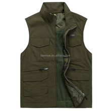 New Mens Multipurpose outdoor Vest for Fishing Hunting Vests 88029