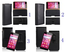 PU Leather Waist Hang Case Cover Belt Clip Protector Skin For Sony Mobile Phone