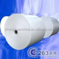 High-bulk C1S Coated Ivory Board/ FBB/ Bristol Paper Roll from manufacture