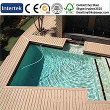 Swimming Pool Decking Board Water Proof Solid Boards Chocolate Boards Exotic Laminated WPC Floor
