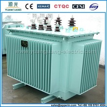 11KV 3 phase oil immersed transformers