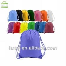Promotional polyester drawstring shoe bag
