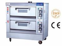 2 Deck 4 Trays Cake Baking Gas Oven Price