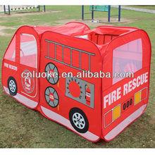 Fire Engine Truck kids play tent