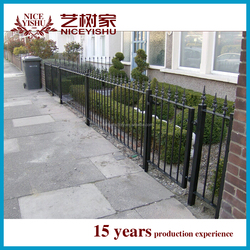2015 latest products steel fences factory price metal fence panels,galvanized fence panel
