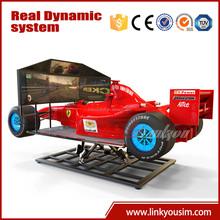 Video game,2015 F1 racing car simulator ,electric rc drift car race simulator