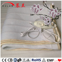 100% Polyester Battery Heated Electric Rechargeable Heated Blanket