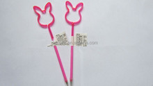cute rabbit tool shaped pen with free sample