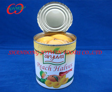 Canned yellow peach in halves 3kg