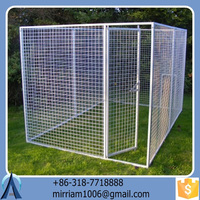 Durable and anti-rust dog kennel/dog cage for sale cheap