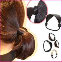 Wholesale Women Hair Rope Elastic Modern Woman Korean Style Hairbands Hair Ties Hair Accessories Synthetic Wig Elastic Headwear