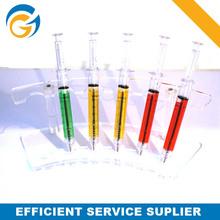 Syringe Stylus Promotion Plastic Ball Pen