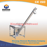 CW series New Condition and screw conveyor Structure small grain augers