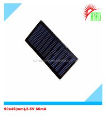 PET laminated 90x45 5V 60mA solar panel