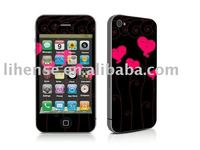 Vinyle skin sticker for iPhone 4