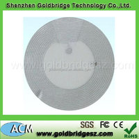 Alibaba china newly design 125khz/13.56mhz 1k Nfc Sticker