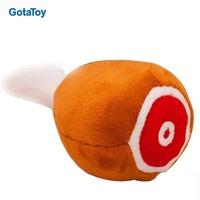 Bespoke plush chicken drumstick toy stuffed drumstick chicken leg soft toy