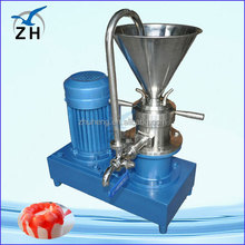 2012 hot sale seame butter machine/sesame butter mill/86-15037136031 stainless steel vertical peanut colloid mill