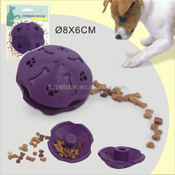 Dog treated rubber toy pet soft rubber dog toy