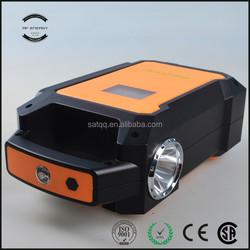 CE.ROHS.FC portable power bank jump starter mini battery Security 12000mah jump starter suzuki car accessories
