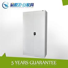 Light grey colour storage cabinet with 2 doors