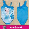 Vente en gros best seller bleu, triangl maillots de bain bikini bikini enfants