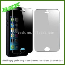 perfect adhesion anti-spy privacy tempered screen protector for iphone 6 ,9H GLASS screen protector film privacy