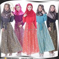 Embellished Islamic Kaftan Indonesia Muslim Women