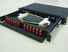fc fiber optic legrand factory price Patch Panel With Cable Manager