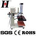 Automatique à double station de chaleur machine de presse de l'huile hydraulique pressé machine d'impression textile