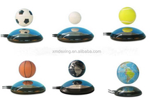 6 inch semi-arc base magnetic levitation globe/magnetic floating physical education equipment/magnetic floating basketball