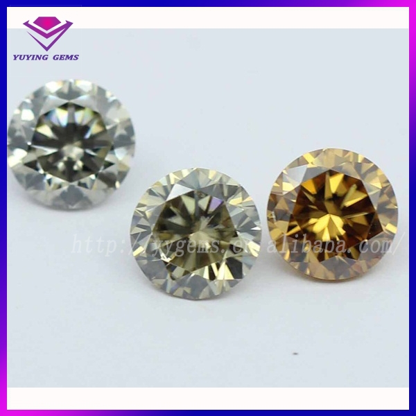 synthetic moissanite gemstone color