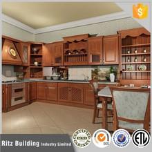 Ritz cherry solid wood kitchen cabinet