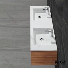 Ventas al por mayor mano comercial wash sink, colgante de pared lavabo del baño