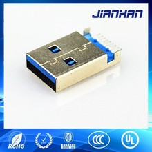 usb 3.0 9pin a male sinking connector high qualify and definition