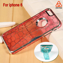 Electroplating mobile phone case colorful for iphone 6 case,fashion mirror phone cases for iphone 6
