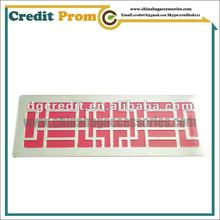 Metal big tags with photo etched process with soft enamel