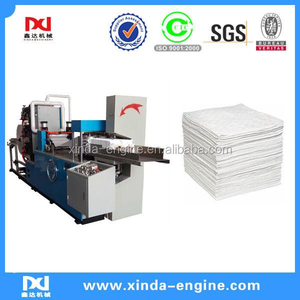 Paper folding machine type table napkin machine serviette - Serviette table tissu ...