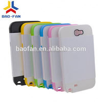 Card Insert 3D sublimation phone case for Samsung Note II-N7100