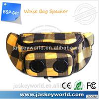 fashion design bag speaker bag bag speaker with battery in direct factory