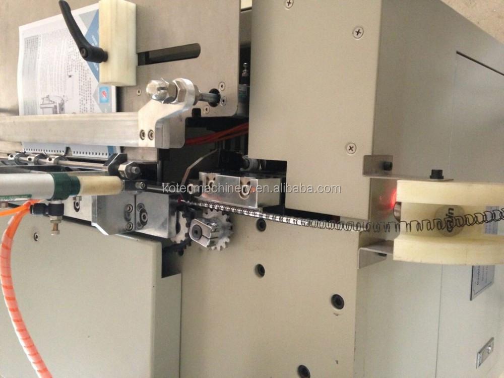 spiral book binding machine