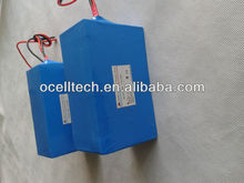 36v LiFePO4 electric bike battery with pvc cover