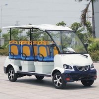 8 Person Electric Sightseeing Coach Tourist Bus (DN-8)