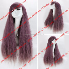 Wholesale Cheap New Fashion Fluffy Healthy Long straight Full Wig with side bang