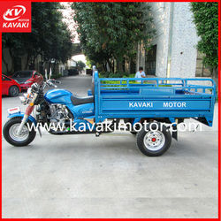 KAVAKI 150cc Blue Cargo Tricycle Transporter KV150ZH-B Cargo Three Wheel Motorcyle