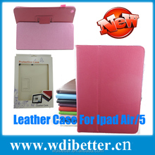 Classical Item For Apple Ipad5 2 Fold Stand Case