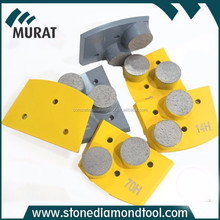 2 segment Diamond Metal cleaning tool for stone